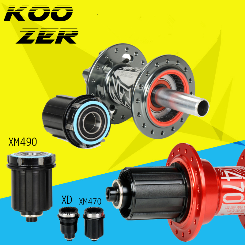 Koozer Hub XM490 XM470 XM460 Caps MTB Bicycle Hubs Converters Mountain Bike Hubs End Cap Adapter QR Or THRU Cap Adaptor XD