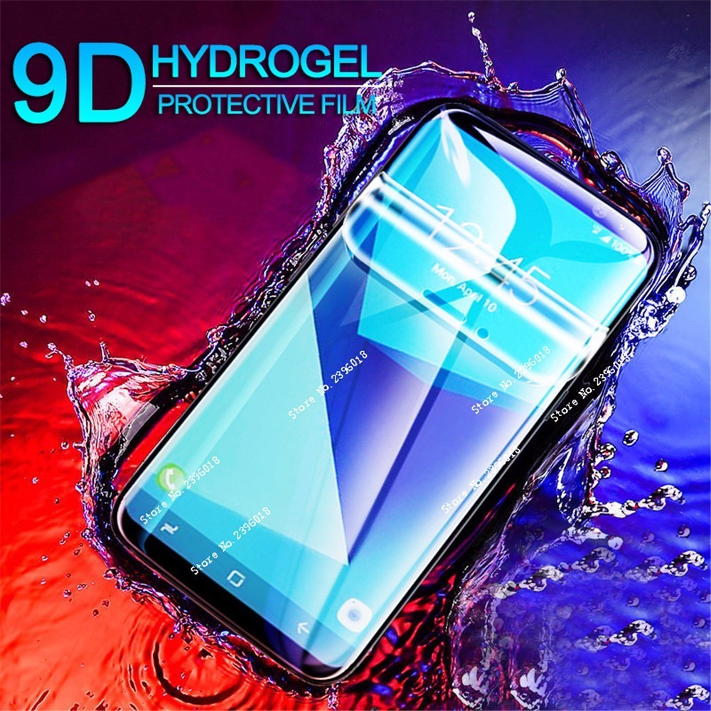 New 9D Full Cover Soft Hydrogel Film For <font><b>Samsung</b></font> Galaxy S10E S9 S10 J 4 6 A6 Plus Screen Protector For J 3 5 M10 M20 Not Glass image