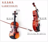1/32 (for 2 3 years old) 1/16 (for 3 4 years old) solid wood violin/student/High quality,mini violin send Case+Bow+Rosin+Strings