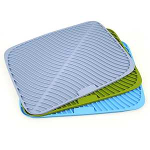 Silicone Tableware Dish-Drying Mat Placemat Dinnerware-Table Heat-Resistant Safe-Pad