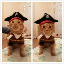 Funny Cat Clothes Costume Sex Nurse Policeman Suit Clothing For Cat Cool Halloween Costume