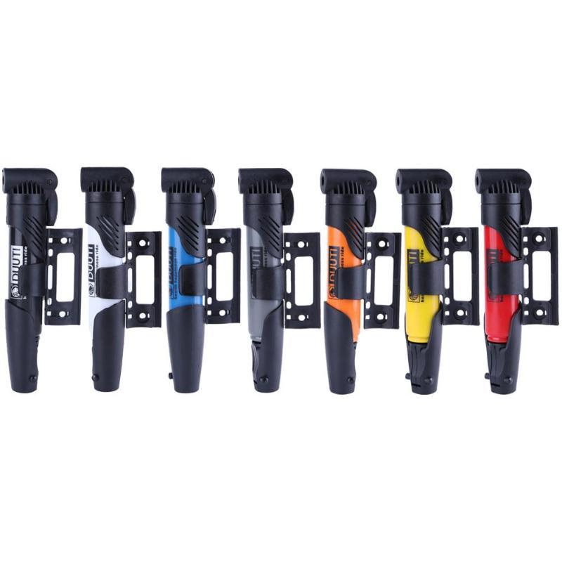 DUUTI Mini Portable High-strength Inflator Folding Bicycle Air Pump for Presta Schrader Valve Super Light Accessories