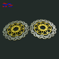 Motorcycle 320mm Floating Disc Left Right Brake Discs For YAMAHA FZR1000 EX UP FZR 1000 XJR1200 SUPERSPORT 400 600 DARK620