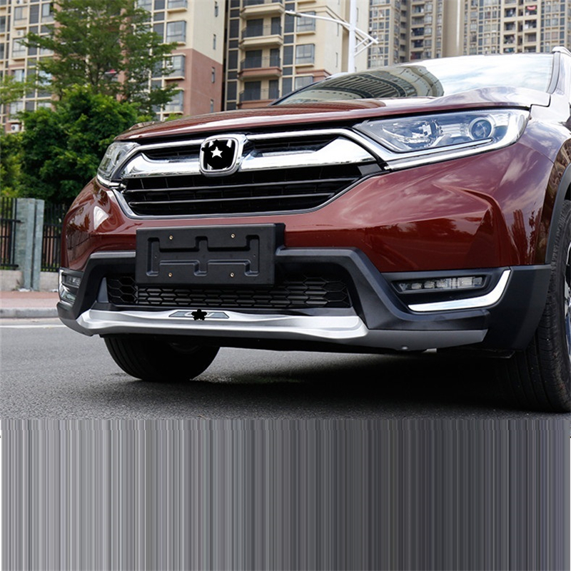 Mouldings Modified Accessories Accessory Styling Exterior Protector Rear Diffuser Tuning Front Car Lip Bumpers FOR Honda CRV in Bumpers from Automobiles Motorcycles