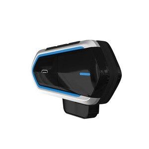 Image 3 - Motorcycle Helmet Intercoms For Helmet Motorcycle Intercom Moto Bluetooth Intercom Motorcycle Interphone Headphones FM Radio
