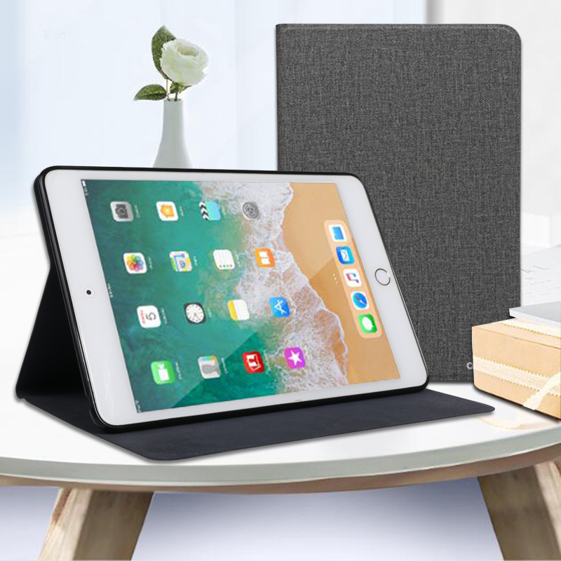 Tablet Case for Apple iPad 5 6 2017 2018 iPad5 iPad6 Leather Flip Cover Soft Silicone Case for Air1 Air2 2013 2014 A1474 A1475