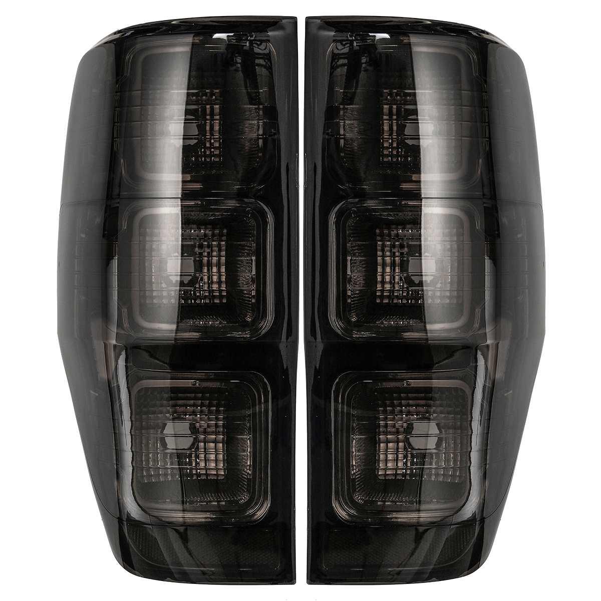 Arrière Gauche Droite feu arrière Fumé Édition Voiture feu arrière Cas pour Ford Ranger PX T6 T7 MK1 MK2 WildTrak XLT XL XLS 2011-2018