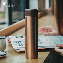 Unibott Double Wall Stainless Steel Vacuum Flasks 330ml Thermos Cup Coffee Tea Milk Travel Mug Thermo Bottle Gifts cup