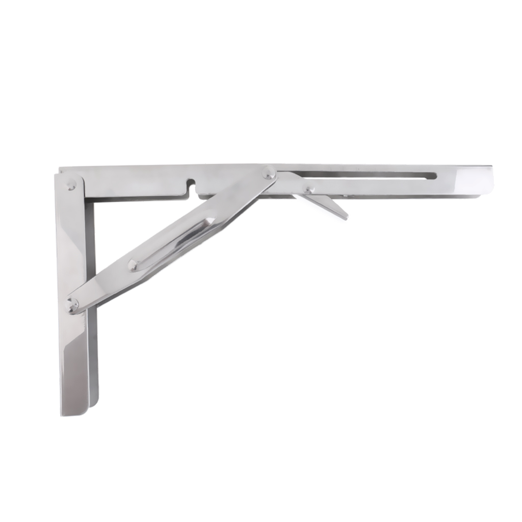 Intellective 304 Stainless Steel Folding Shelf Bench Table Folding Shelf Bracket Automobiles & Motorcycles 550lbs Folding Table Wall Mounted Boat/yacht Accessories