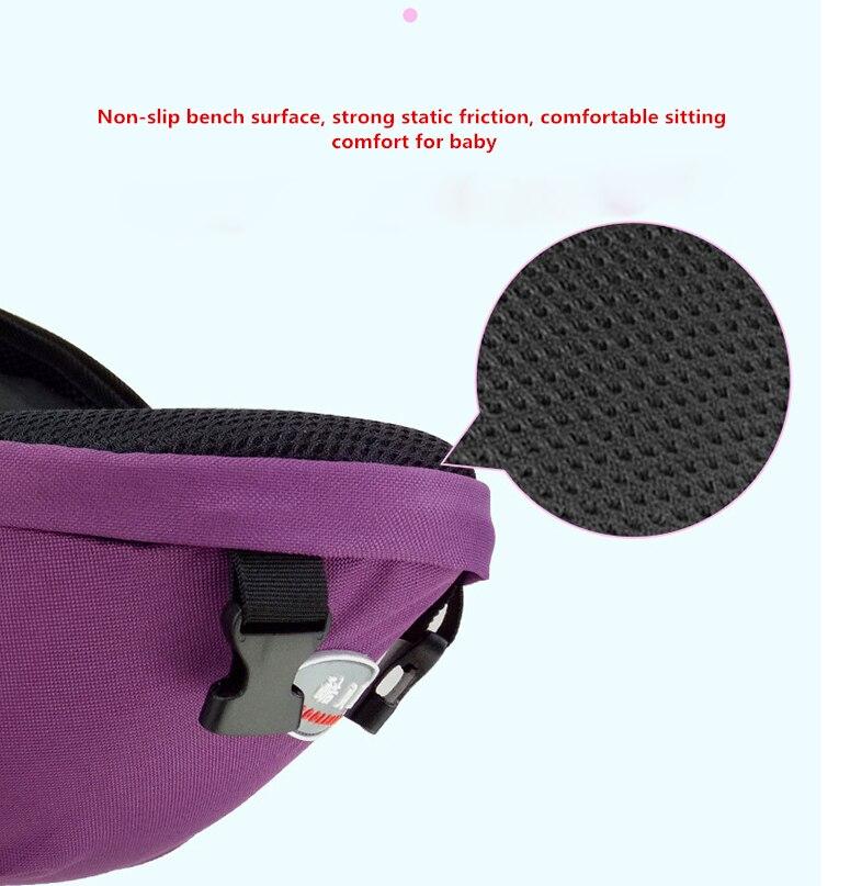 Ergonomic Cotton Blend Newborn Baby Carrier Sling Wrap Backpack Front Back Chest