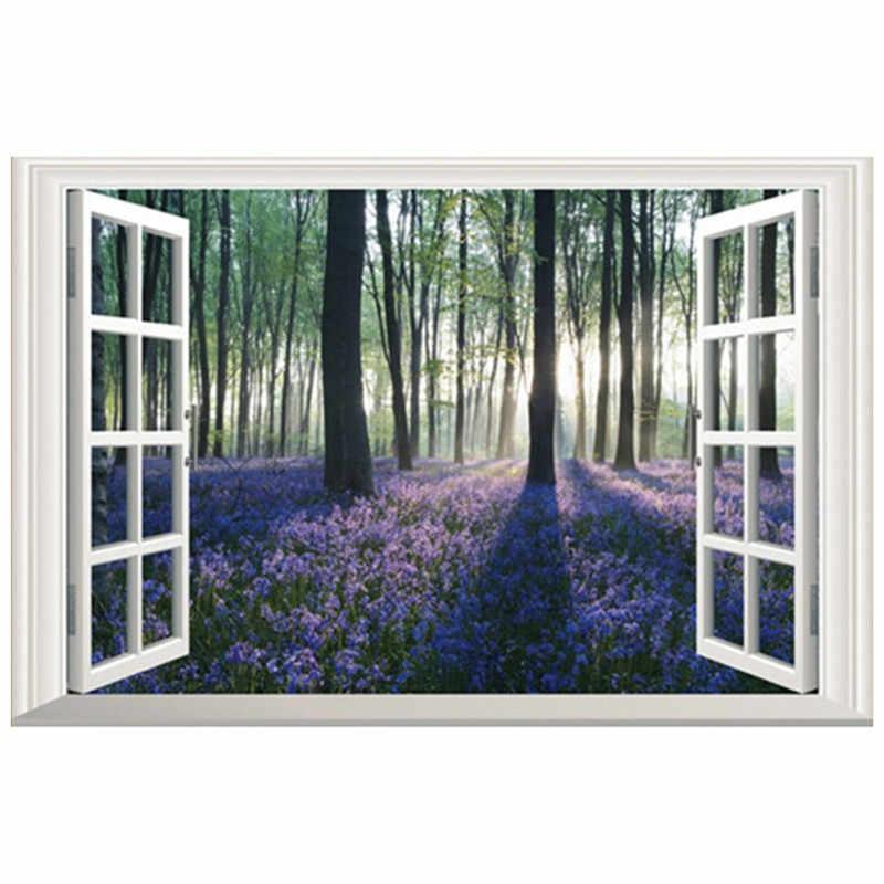 Home Decoration Natural Flower Wallpaper Spring Landscape
