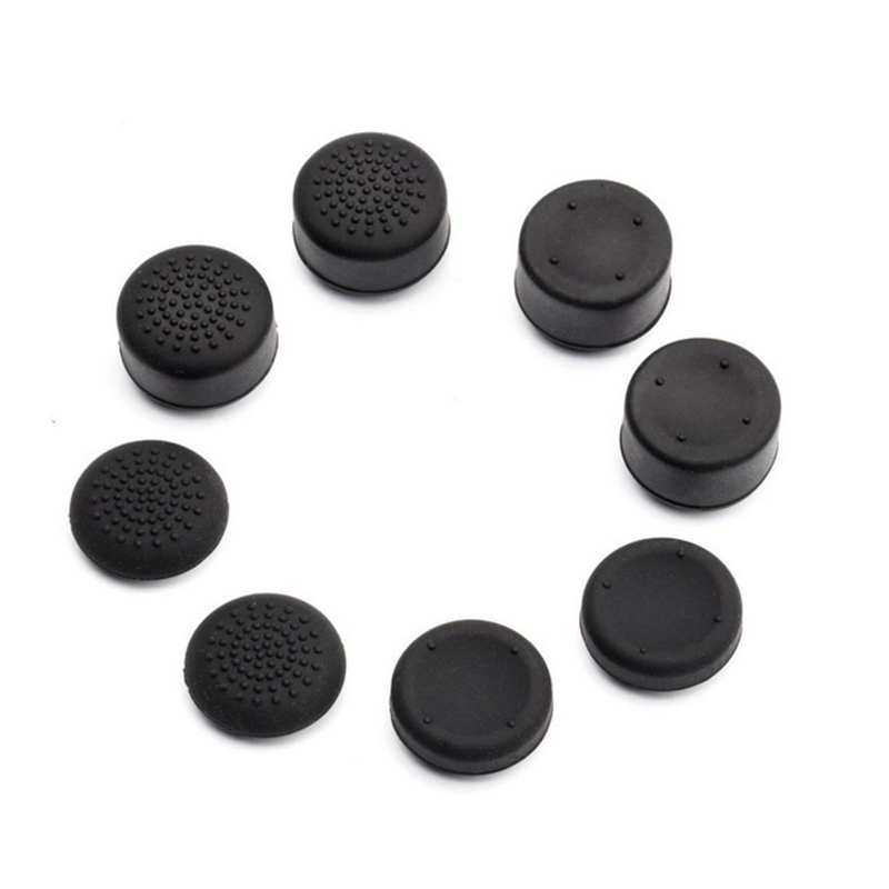8pcs/set Joystick Replacement Thumb Stick Grips Caps Buttons For Sony PlayStation 4 PS4 Gamepad Controller Repair Parts Buttons