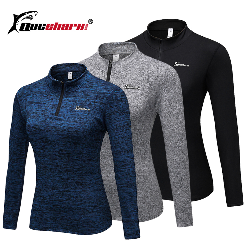 Running Jacket Shirt Tight Collar Long-Sleeve Fitness Yoga Winter Neckwear Gym Fleece