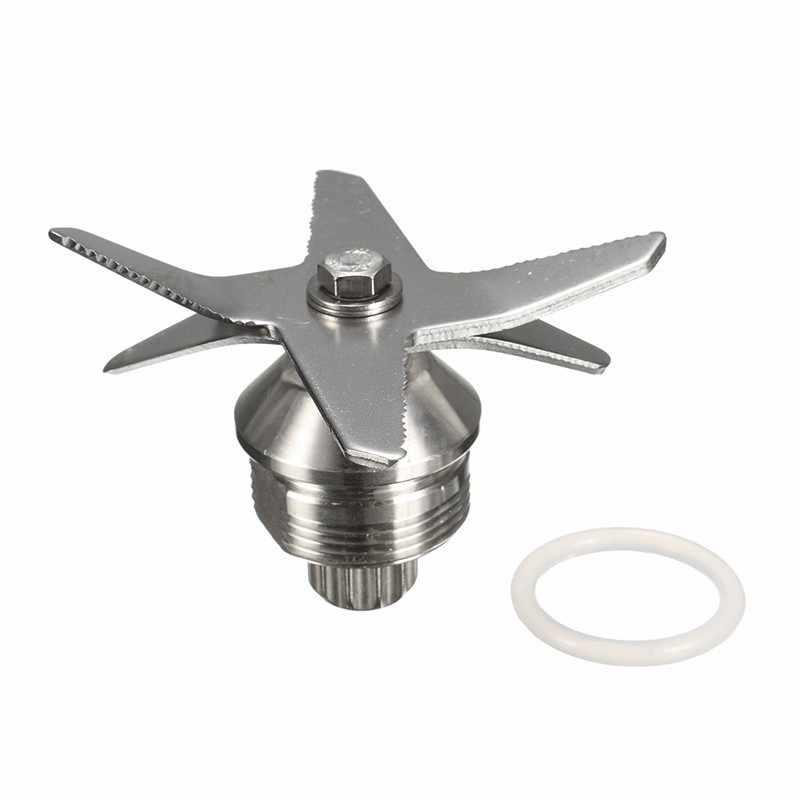 1 Pcs Prata Aço Inoxidável Liquidificadores Juicer Lâmina Peças Lâmina De Gelo Para O Vitamix Liquidificadores 5200 Series