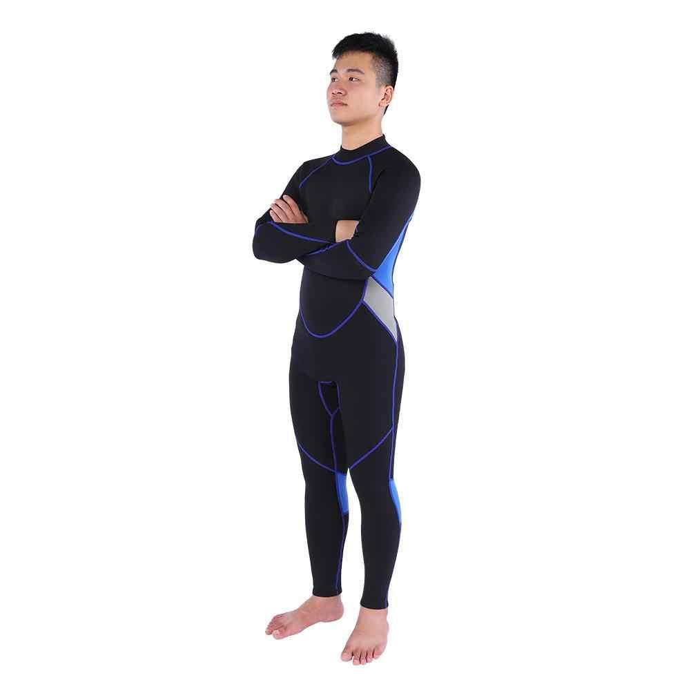 Wetsuits 3mm Neopren dalgıç giysisi Tam Boy Pantolon Termal Kalınlaşmış Yüzme Dalış dalgıç kıyafeti sörf kıyafeti