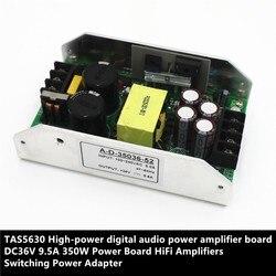 TAS5630 wysokiej mocy dźwięk cyfrowy płyta wzmacniacza zasilania DC36V 9.5A 350W listwa zasilająca wzmacniacze HiFi przełączanie zasilacza