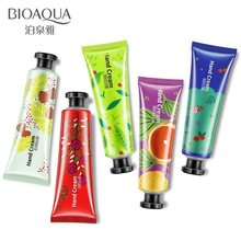 5pcs/lot BIOAQUA Plant Extract Fragrance Moisturizing Nourishing Hand Cream Suit Nourishing Korean Hand Cream Care 30g(China)