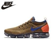 Nike Air Vapormax Flyknit Новое поступление мужские кроссовки дышащие удобные нескользящие кроссовки #942842-203/700 AT8955-013