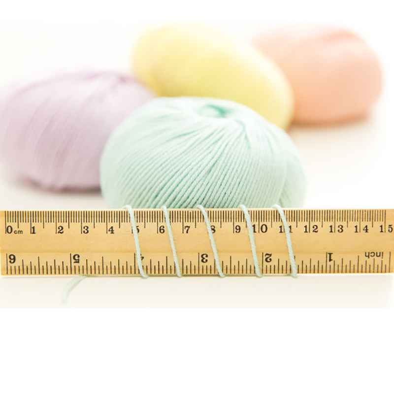 30g ball Worsted Extrafine 4 ply Merino Wool Yarn Baby Yarn for Hand Knitting Crochet Scarf Hat Sweater Weave Thread QW078 in Yarn from Home Garden