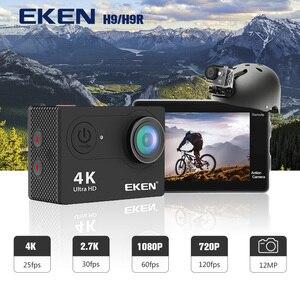 Image 2 - In stock ! EKEN H9R H9 Ultra HD 4K Action Camera 30m Waterproof 1080p Video Recording Sport Camera 2.0 Screen Helmet Cam