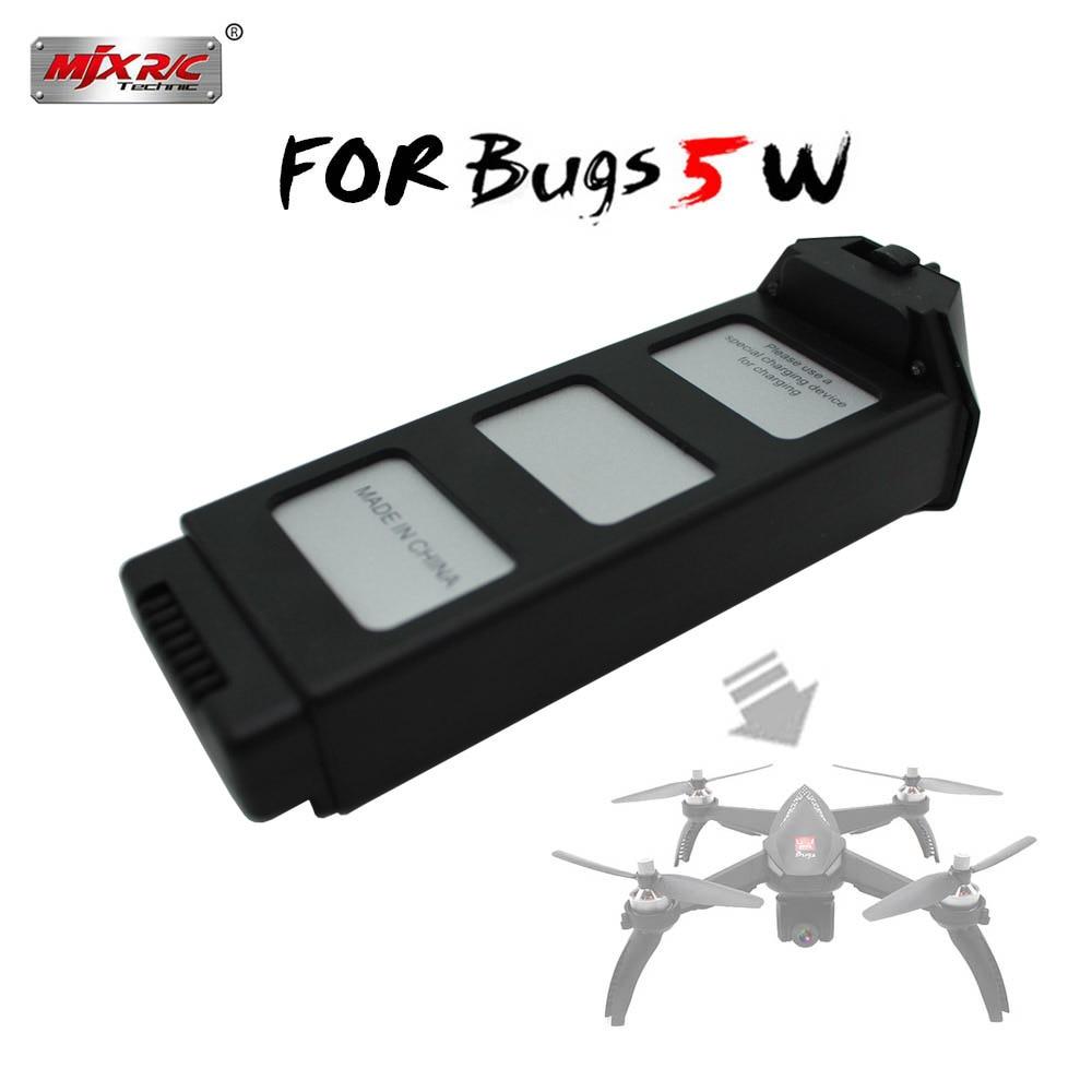 1pc//2pcs 7.4V 1800mAh Li-Po Battery for MJX Bugs B5W Brushless RC Drone Aircraft