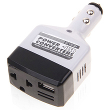 White USB Car Inverter