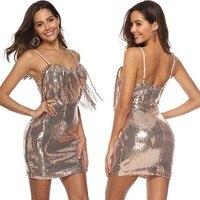 glitter rose gold sequin dress ukraine vestidos vestido party dresses sexy club women short dress jurken vestido curto elbise