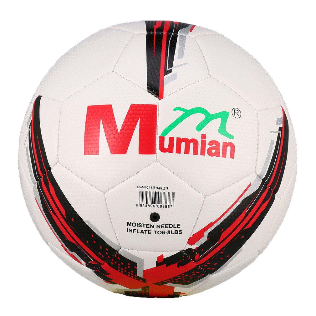 Mumian High Quality Official Size 5 Standard PU Soccer Ball Training Competition Football Ball For Indoor&Outdoor