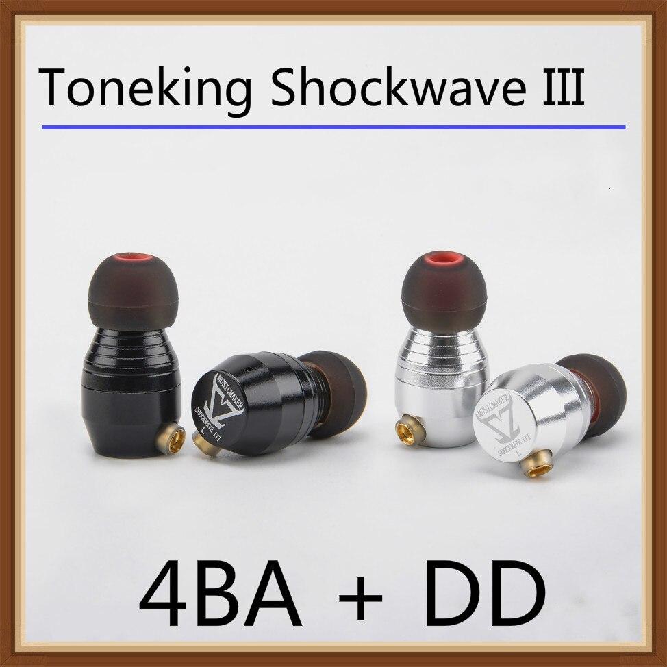 MusicMaker Toneking Shockwave III 11mm DD 4BA Hybrid 5 Unit In Ear Hifi Music Monitor DJ