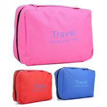 Makeup Tool Kits Cosmetic Bag Women Foldable Zipper Cosmetic