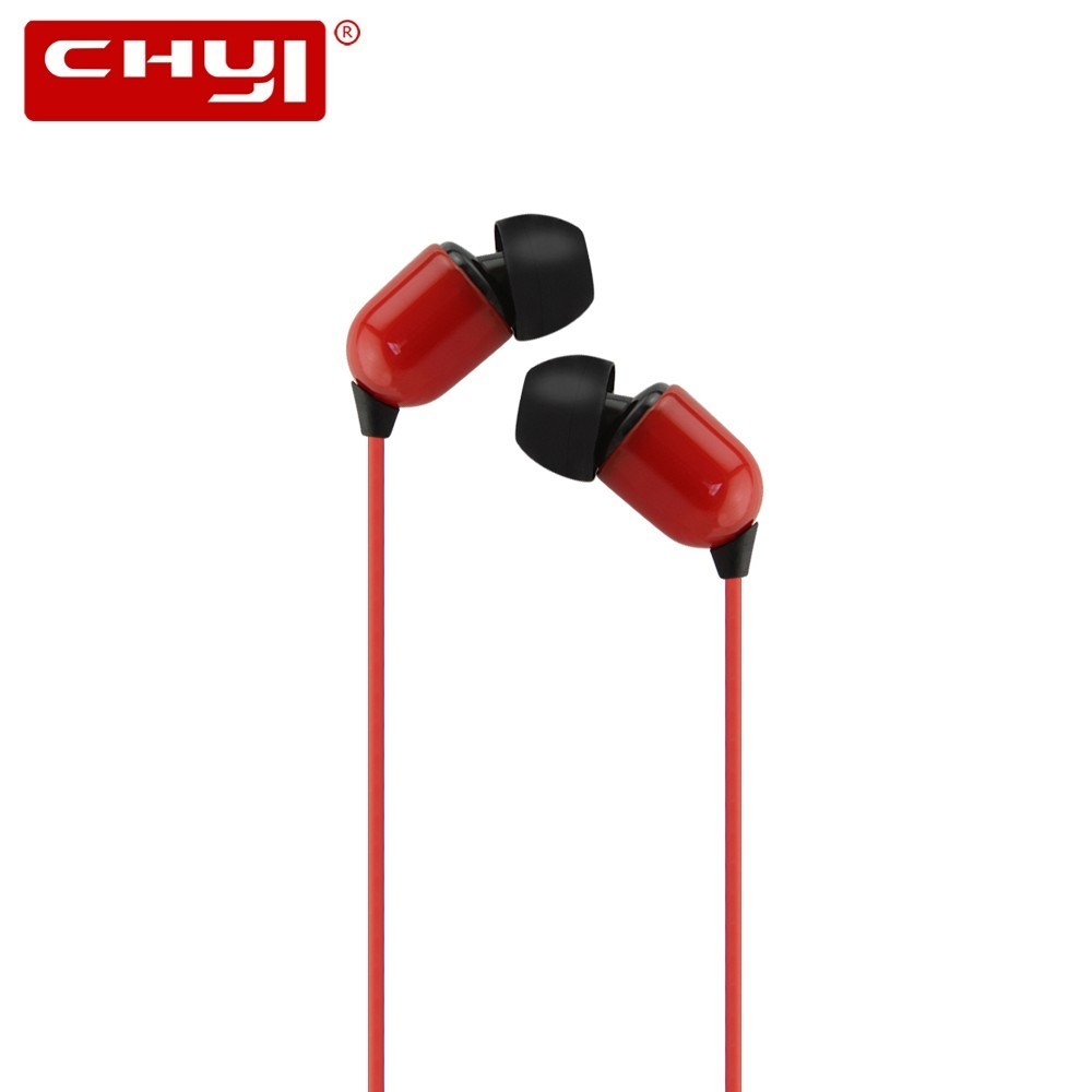 CHYI Wired In-ear Earphone Earphones Super Bass Stereo HIFI Headset Earbuds 3.5mm 3m Extra Long Cable Earbud Without Microphone