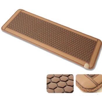 Natural Real Jade Stone Tourmaline Thermal Massage Mat Far Infrared Heat Mattress with FREE GIFT