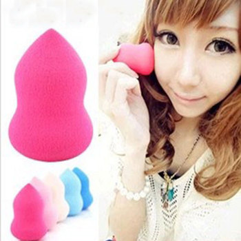 2019 Rushed 1pcs Fashion Women Gourd Shape Powder Puff Of Many Colors Beauty Make-up Sponge Tool Girl Makeup Tools Accessories