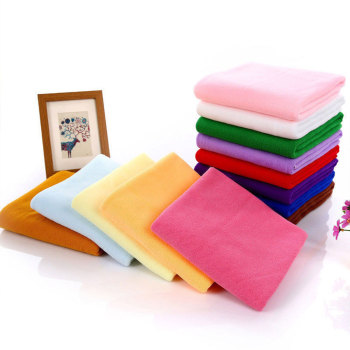 Absorbent Towel Car Washclothes 6 Color 30*60cm Microfiber Beach Towel Family Towel Hotel Washcloth 30*60cm Cleaning Equipment 1