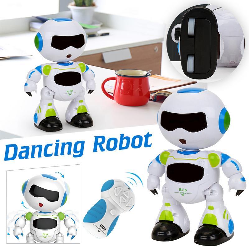 1 Set Smart Usb Lade Fernbedienung Fußball Roboter Spielzeug Musik Und Tanzen Simulation Rc Intelligente Fußball Roboter Spielzeug Dauerhaft Im Einsatz