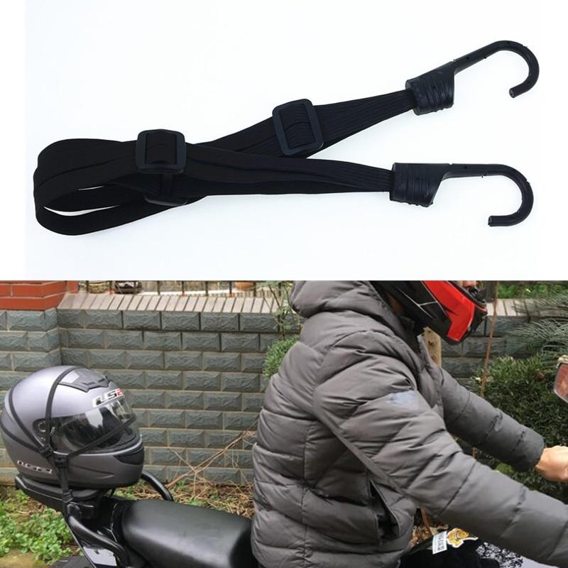 60CM moto casque sangles moto accessoires crochets bagages rétractable élastique corde fixe sangle Motos casque bagages Net