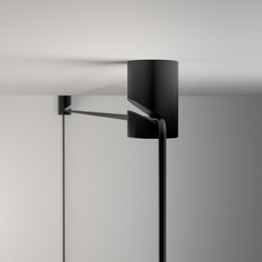 Modern Geometric Lines LED Pendant Lights Living Bedroom Restaurant Pendant Lamp Cafe Bar Decorate Luminaire Suspension Lighting in Pendant Lights from Lights Lighting
