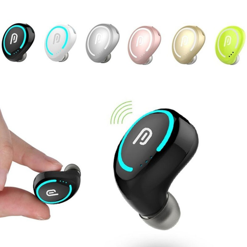 Mini Bluetooth Headset Wireless Earphones 4.1 Earbuds Earphone Waterproof For Smart Phone