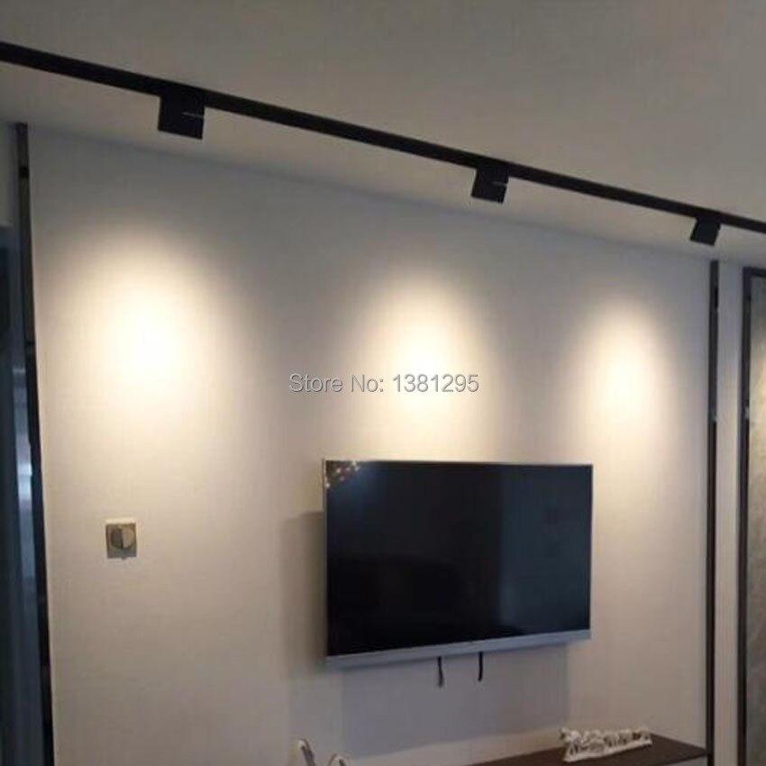 LED Track Light Clothing Shop store Showroom Exhibition Home Spotlight Tracklight Ceiling Rail Spot Lighting System