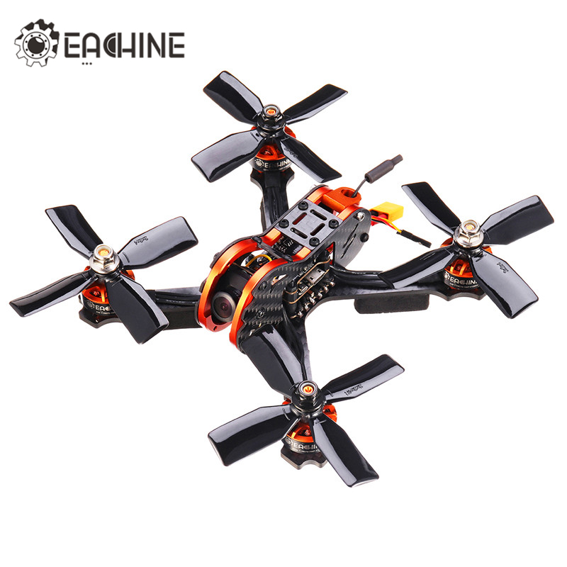 Eachine Tyro79 140mm 3 Pouces bricolage Version Pour FPV Racing Cadre drone rc quadrirotor F4 OSD 20A BLHeli_S 40CH 200 mW 700TVL Jouets