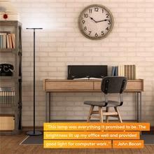 Modern Floor Lamp Iron Nordic Led Floor Light 360 Degree Rotating Dimming Switch Bedroom Living Room Standing Lamp Lighting Deco цена