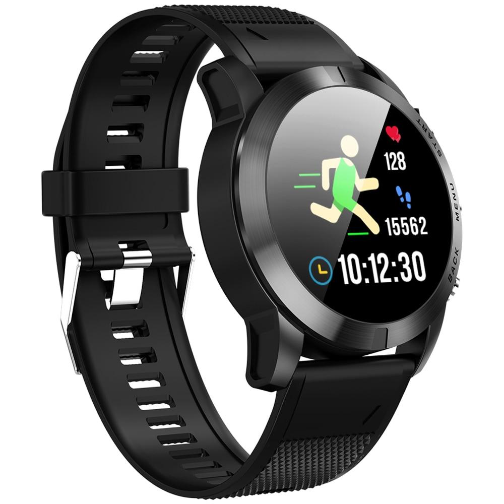 S10 Men Smart Watch Ip68 Waterproof Watch Bluetooth 4.2 Wristwatch Heart Rate Monitoring Compass Sport Bracelet For Android Ios Men's Watches