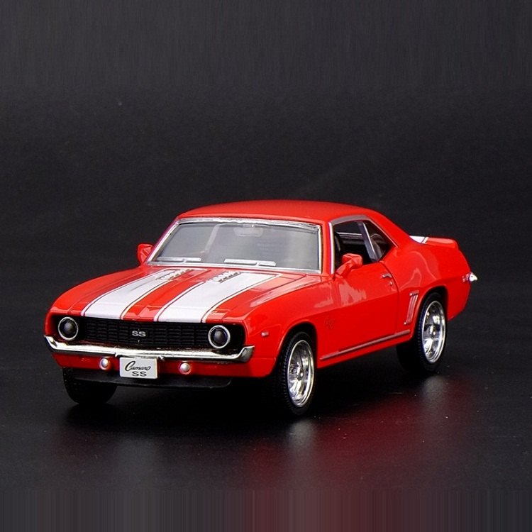 High Simulation Exquisite Die-casts&Toy Vehicles: RMZ City Car Styling 1969 Chevrolet Camaro SS 1:36 Alloy Car Model Toy Cars