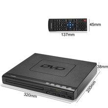 110 V-240 V USB Портативный несколько воспроизведения DVD плеер ADH DVD проигрыватель компакт-дисков/SVCD/VCD/проигрыватель дисков с дальний Управление- подача заявки на DVD160