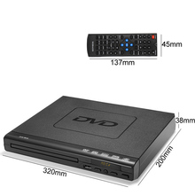 110V-240V USB Portable Multiple Playback DVD Player ADH CD SVCD VCD Disc With Romote Control---DVD160