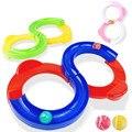 Новинка  10 шт./лот  забавный мяч для интеллектуального развития 88 треков  детский сад  детские игрушки для координации рук и глаз