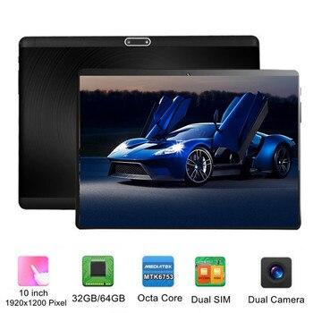 "KUHENGAO Pad Tablets 10"" PC Octa Core 1920x1200 Dual Camera Dual SIM Phone call 4G Tablet Android"
