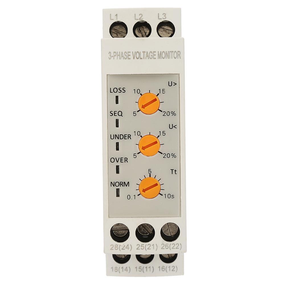 Voltage Monitoring Relay JVRD-380W Adjustable Circuit Voltage ...
