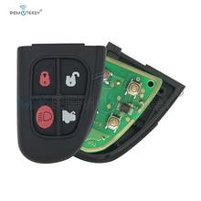цена на Remtekey Flip remote key fob for Jaguar X S XJ XK NHVWB1U241 4 button 434Mhz