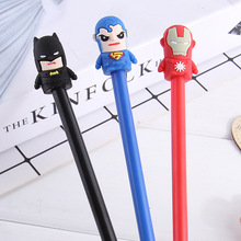 48pcs/lot Gel Pen Cartoon Anime Boys Favor Creative Students Stationery Gift Prize Sign